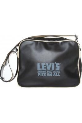 Geanta LEVI`S Newnolan 51879 001 black - els, preturi, ieftine