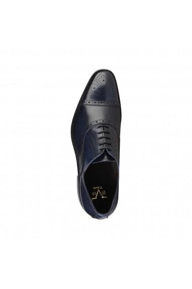 Pantofi V 1969 ALAIN_BLU-BORDO albastru