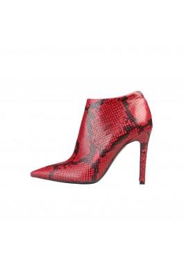 Botine marca Versace 1969 GEORGETTE rosii