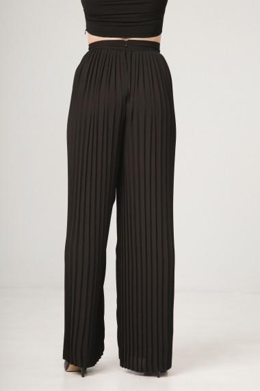 Pantaloni largi Fontana 2.0 VISSIA NERO negru