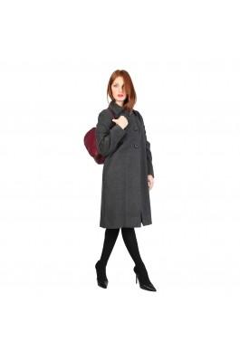 Palton Fontana 2.0 NICOLE gri antracit din lana - els