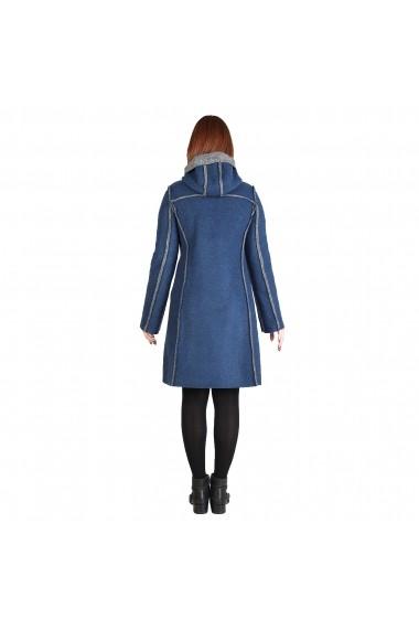 Palton pentru femei marca Fontana 2.0 MARTA navy - els