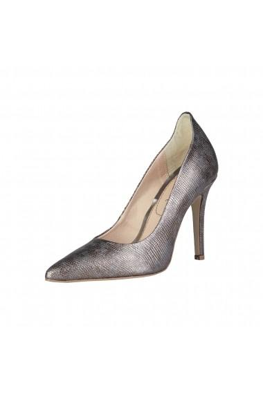 Pantofi cu toc Pierre Cardin LOUANE GRIGIO