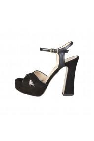 Sandale Pierre Cardin EW-1013_NOIR negru