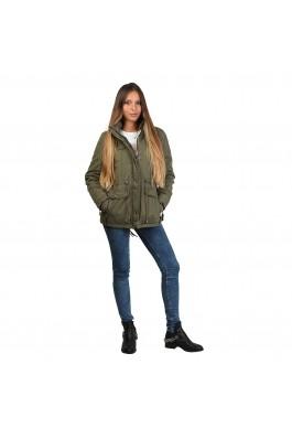 Jacheta pentru femei marca Halifax 7820196 OLIVE - els