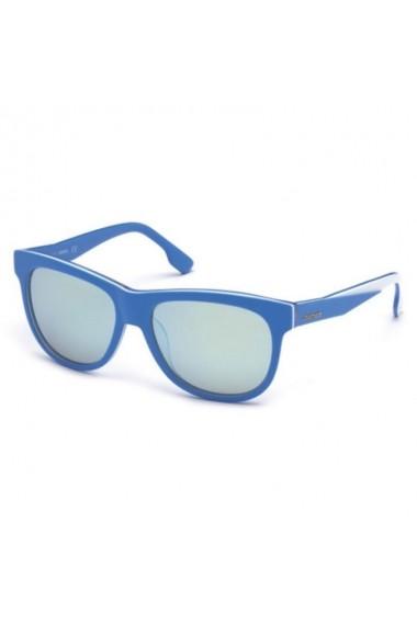 Ochelari de soare Diesel DL0112_56_86C_B100003 albastru