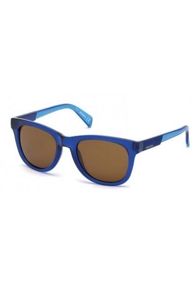 Ochelari de soare Diesel DL0135_52_90E_B100003 albastru