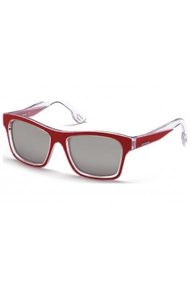 Ochelari de soare Diesel DL0071_55_68C_B100003 rosu