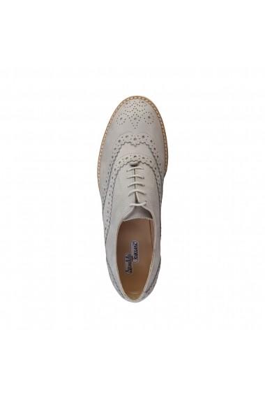 Pantofi Arnaldo Toscani 2110608_2439GREY gri