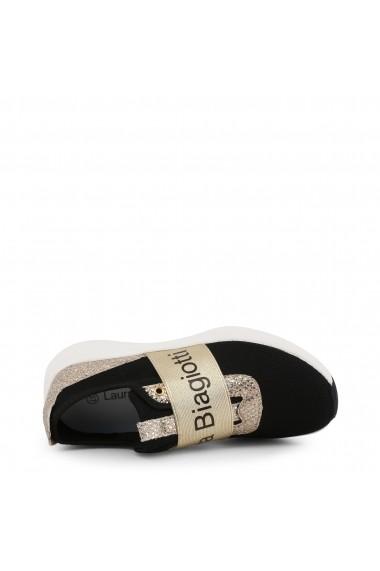 Pantofi sport Laura Biagiotti 5541_MESH_BLACK-GOLD