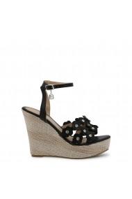 Sandale cu toc Laura Biagiotti 5612_CALF_BLACK Negru