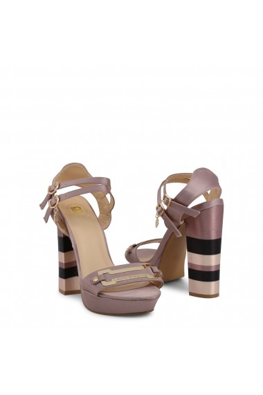 Sandale cu toc Laura Biagiotti 5353_SATIN_PINK Roz
