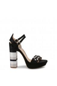 Sandale cu toc Laura Biagiotti 5353_SATIN_BLACK Negru