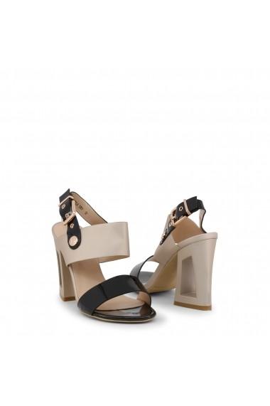 Sandale cu toc Laura Biagiotti 5307_PATENT_BLACK
