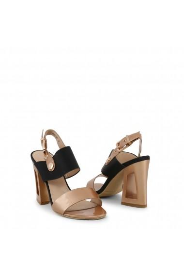 Sandale cu toc Laura Biagiotti 5307_PATENT_COPPER-TAUPE
