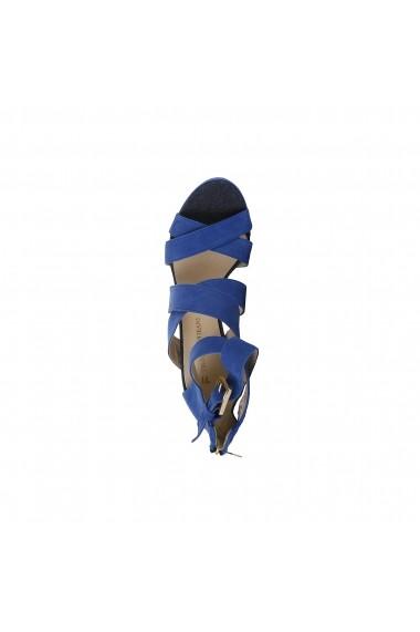 Sandale Trussardi 79S003_46_BLUETTE albastru - els