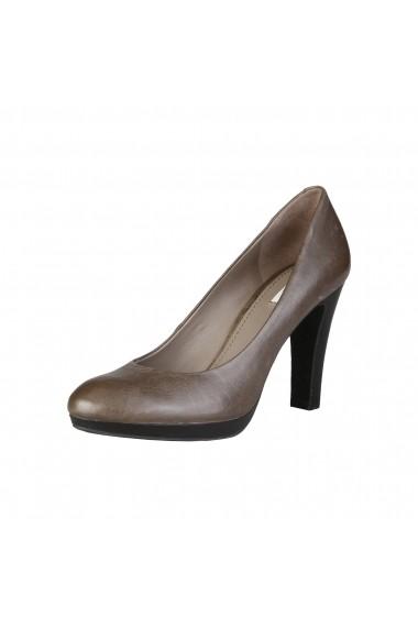 Pantofi cu toc Geox D34W8F 00045 C9002 Gri - els