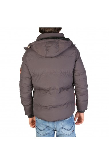 Jacheta Geographical Norway Verveine_man_darkgrey Gri