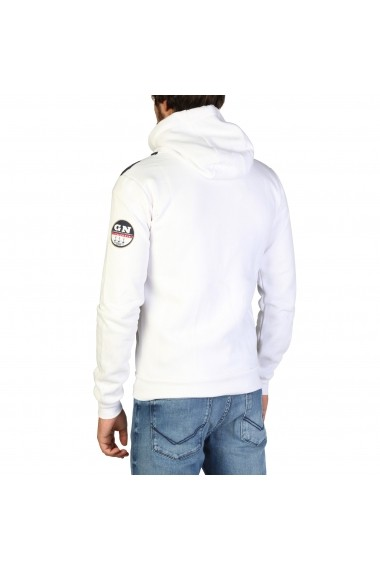 Pulover Geographical Norway Gilba_man_white