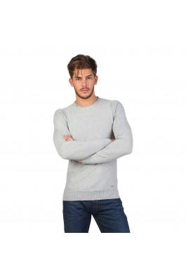Pulover pentru barbati marca Gas JANNI gri deschis - els