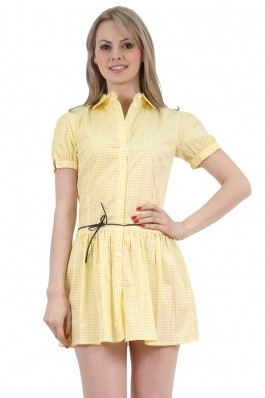 Sarafan Be You, yellow, preturi, ieftine