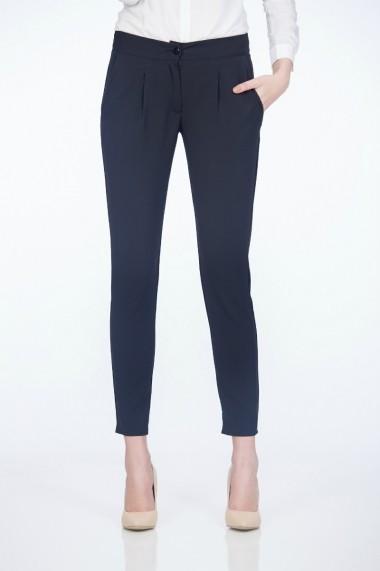 Pantaloni pentru femei Be You negri cu pense