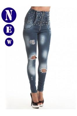 Pantaloni skinny PANTALON CORSET TORY Escape Star Jeans
