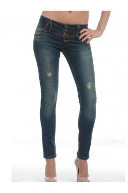 Pantaloni skinny OLIVE Escape Star Jeans, preturi, ieftine