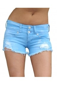 Pantaloni scurti Escape Star Jeans EVELIN BLUE