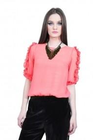 Bluza roz de dama, RVL rvl_D-2514-oz roz