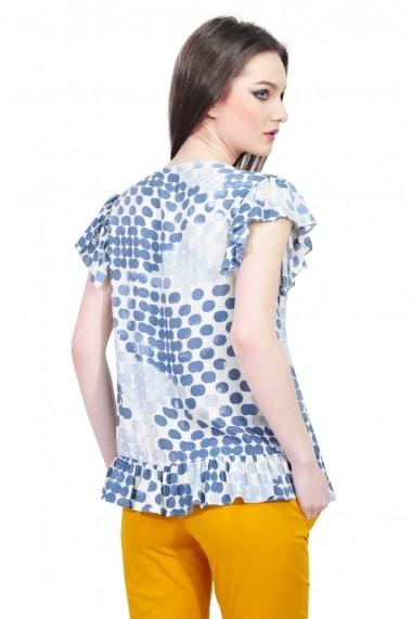 Bluza RVL Fashion de dama cu buline