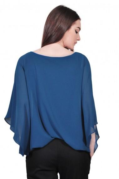 Bluza RVL Fashion albastra de dama