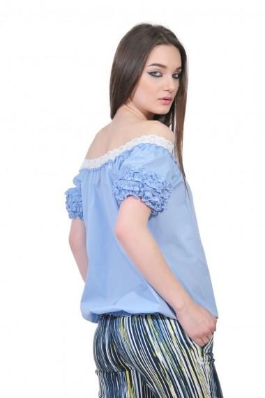 Bluza RVL Fashion bleu de dama