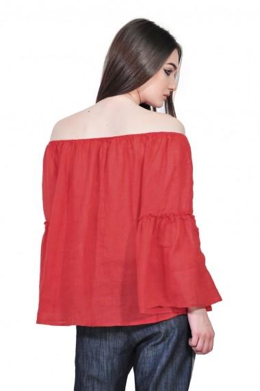 Bluza RVL Fashion larga rosie de dama tip ie