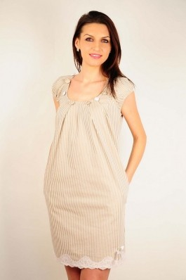 Rochie RVL Fashion Anabelle bej, preturi, ieftine