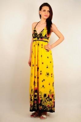 Rochie RVL Fashion Sunny Days galbena, preturi, ieftine