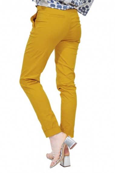 Pantalon RVL Fashion mustar de dama
