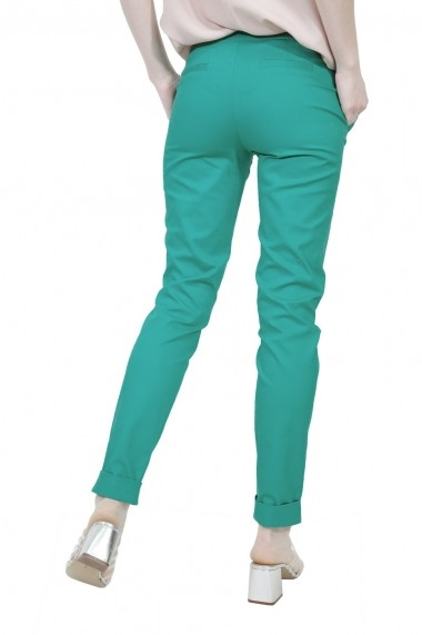 Pantalon RVL Fashion verde de dama