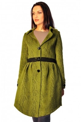 Palton RVL Fashion Be classy verde deschis