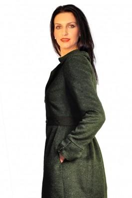 Palton RVL Fashion Be Classy verde inchis
