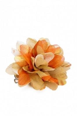 Brosa crizantema culori toamna King`s Daughter - portocaliu, preturi, ieftine