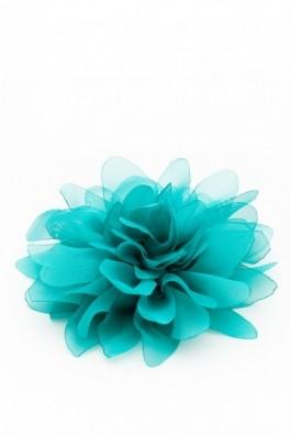 Crizantema mare voal turcoise Summer Fairy - turcoise, preturi, ieftine
