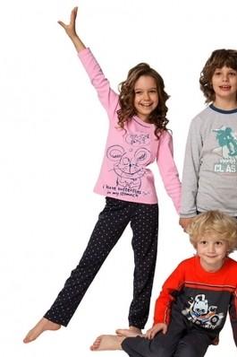 FashionUp! - Pijama Italian fashion Roz 12883-125 - COPII, Imbracaminte