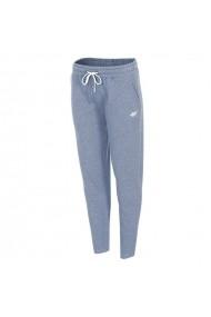Pantaloni sport pentru femei 4f  W H4L19-SPDD001 34M niebieski melanż