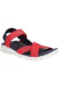 Sandale plate pentru femei 4f W H4L19-SAD002 36S czerwony
