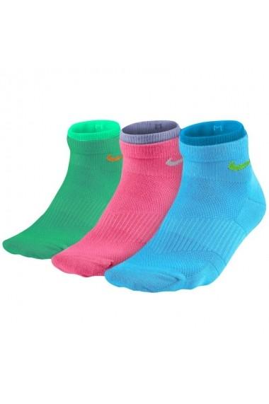 Sosete pentru femei Nike Lightweight Cotton Quarter 3pak W SX4730-983