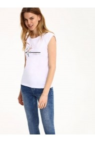Tricou Top Secret TOP-SPO3102BI alb