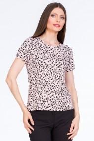 Bluza Sense Adelina roz+negru