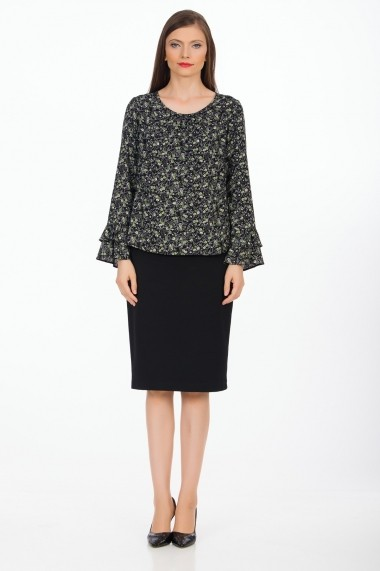 Bluza Sense Liana negru FSE-CA4649 --9