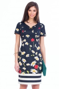 Rochie office Sense Amour navy